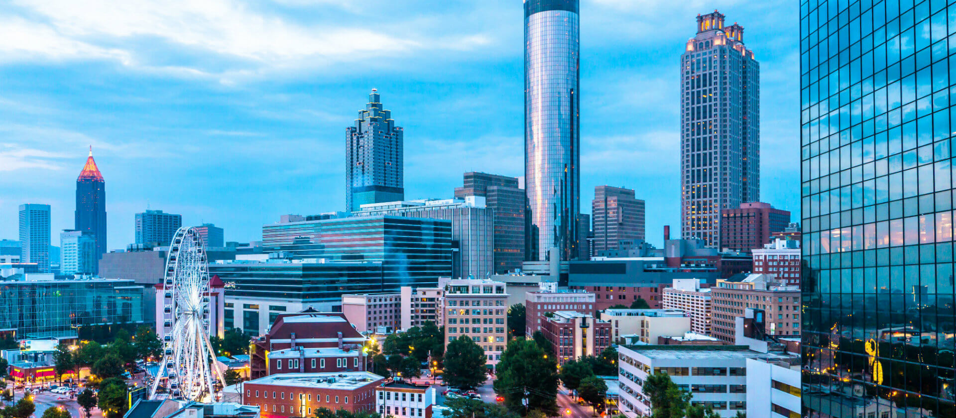 Kalos Financial Atlanta Events National Conference 2019 skyline