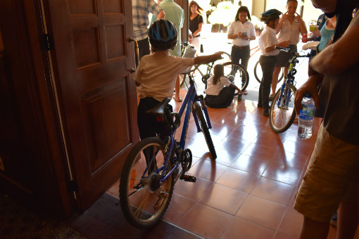 Kalos Financial Atlanta Kalos on a Mission 2019 Costa Rica child bicycle