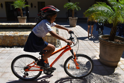 Kalos Financial Atlanta Kalos on a Mission 2019 Costa Rica child riding bicycle