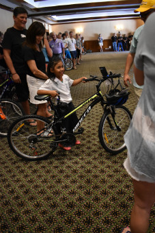 Kalos Financial Atlanta Kalos on a Mission 2019 Costa Rica child with bike