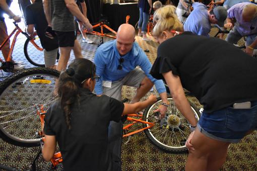 Kalos Financial Atlanta Kalos on a Mission 2019 Costa Rica group bike build