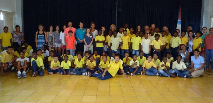 Kalos Financial Atlanta Kalos on a Mission Curacao 2016 group