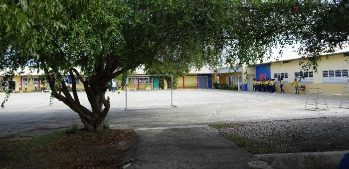 Kalos Financial Atlanta Kalos on a Mission Curacao 2016 school playground