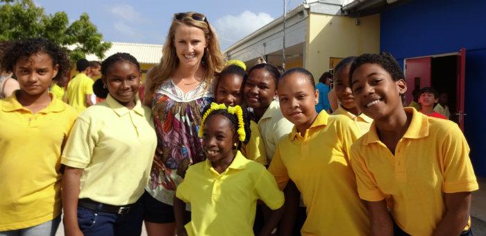 Kalos Financial Atlanta Kalos on a Mission Curacao 2016 students member