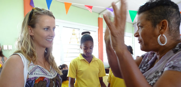 Kalos Financial Atlanta Kalos on a Mission Curacao 2016 talking