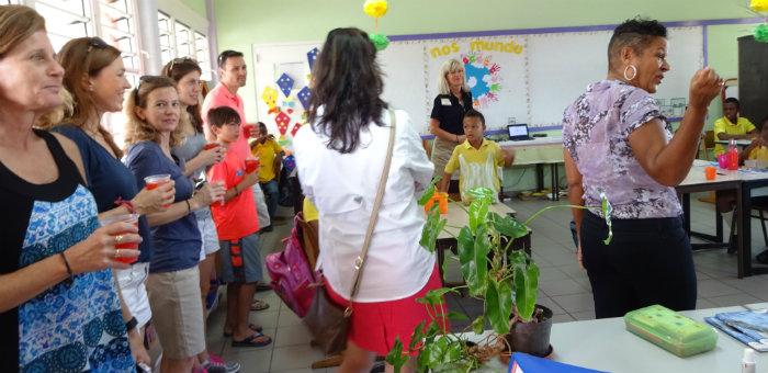 Kalos Financial Atlanta Kalos on a Mission Curacao 2016 team classroom