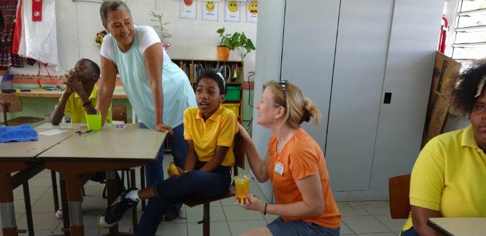 Kalos Financial Atlanta Kalos on a Mission Curacao 2016 team student teacher