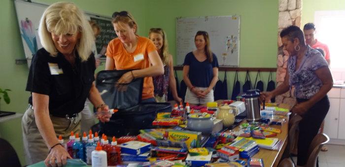 Kalos Financial Atlanta Kalos on a Mission Curacao 2016 team supplies