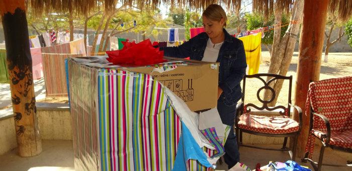Kalos Financial Atlanta Kalos on a Mission Cabo San Lucas 2017 unwrapping washer dryer